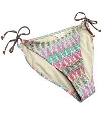 M0ns00n Accesorize GREEN Crochet Knit Tie Side Bikini Bottoms - Size 12 to 18