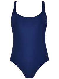 Naturana DARK-BLUE X-Back Swimsuit - Size 10