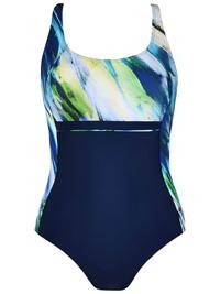 Naturana MARINE Multiway Printed Swimsuit - Size 10