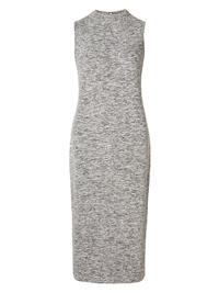 M&5 GREY Boucle Sleeveless Midi Dress - Size 10 to 22