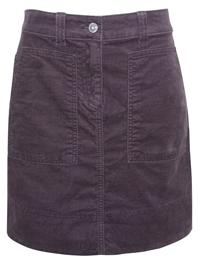 M&5 MULBERRY Cotton Rich Mini Skirt - Size 8