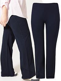 M&5 NAVY Cotton Rich Straight Leg Joggers - Plus Size 18 to 32