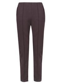 M&5 GRAPE Straight Leg Side Pocket Ponte Trousers - Size 8 to 22