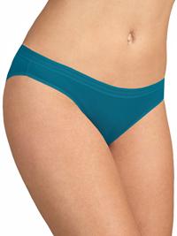 M&5 TEAL Modal Cotton Blend No VPL Bikini Knickers - Size 6 to 28