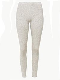 M&5 Thermal GREY-MARL Heatgen Leggings - Size 6 to 22
