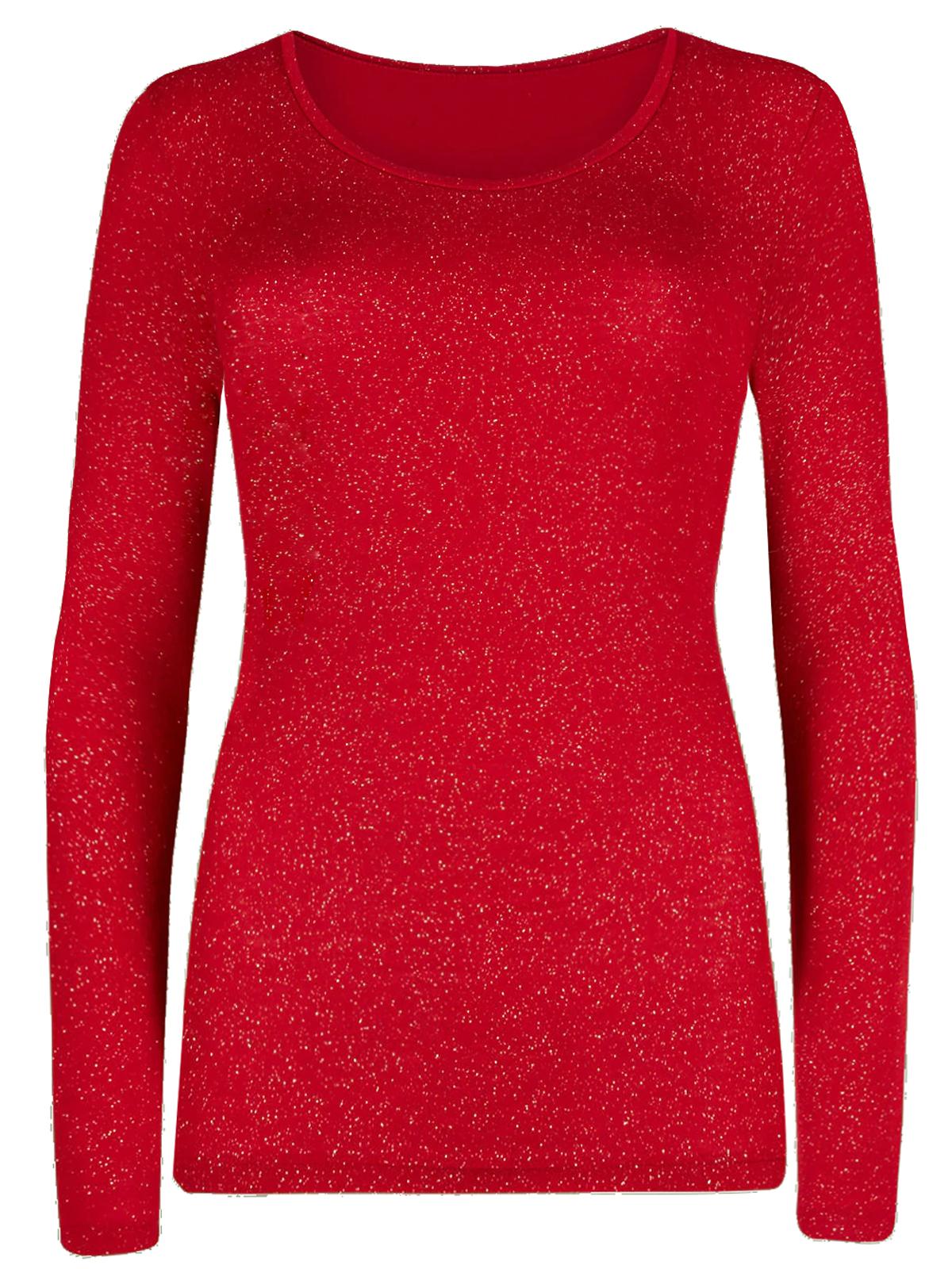Marks /& Spencer Womens Velvet Heatgen Long Sleeve New M/&S Soft Warm Thermal Tops