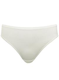 M&5 IVORY No VPL Microfibre Low Rise Bikini Knickers - Plus Size 20