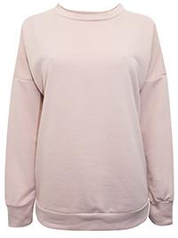 Roman OR1G1NALS BLUSH Long Sleeve Sweatshirt - Size 10 to 16/18 (S to XL)