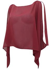 Joanna Hope SPICE Split Sleeve Blouse - Plus Size 12 to 26