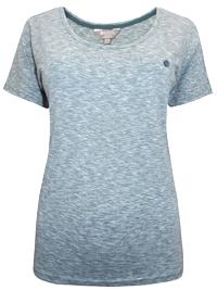 Mountain Warehouse GREEN Pure Cotton Space Dye T-Shirt - Size 8 to 18