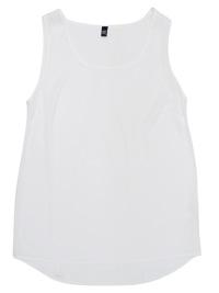 Simply Basic WHITE Scoop Neck Sleeveless Vest Top - Size 14