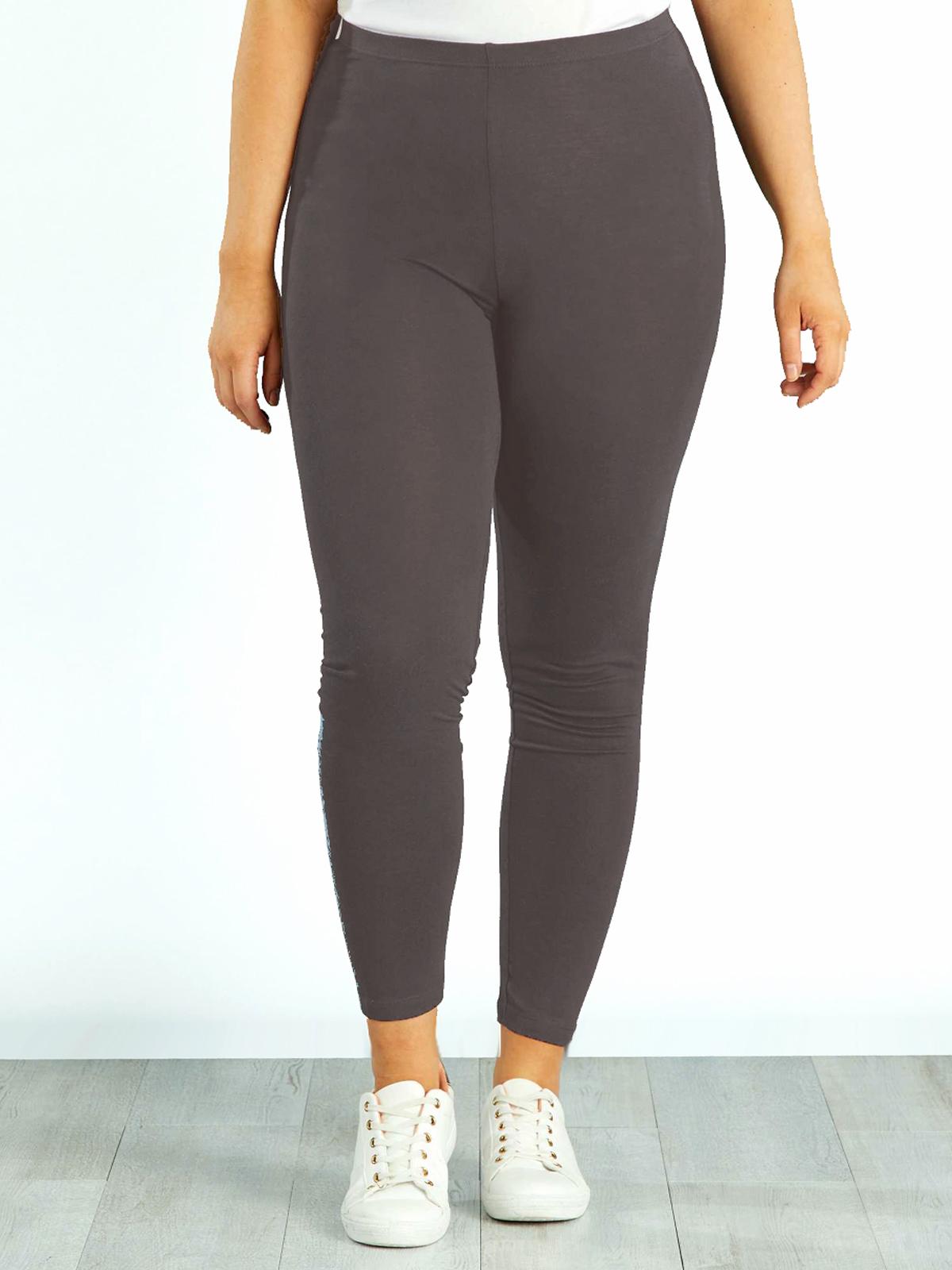 Leggins Cotton Rich Comfort  M Esmara  Dark Grey