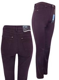 FDJ PLUM Susan Slim Higher Rise Denim Jeans - Size 8 to 22