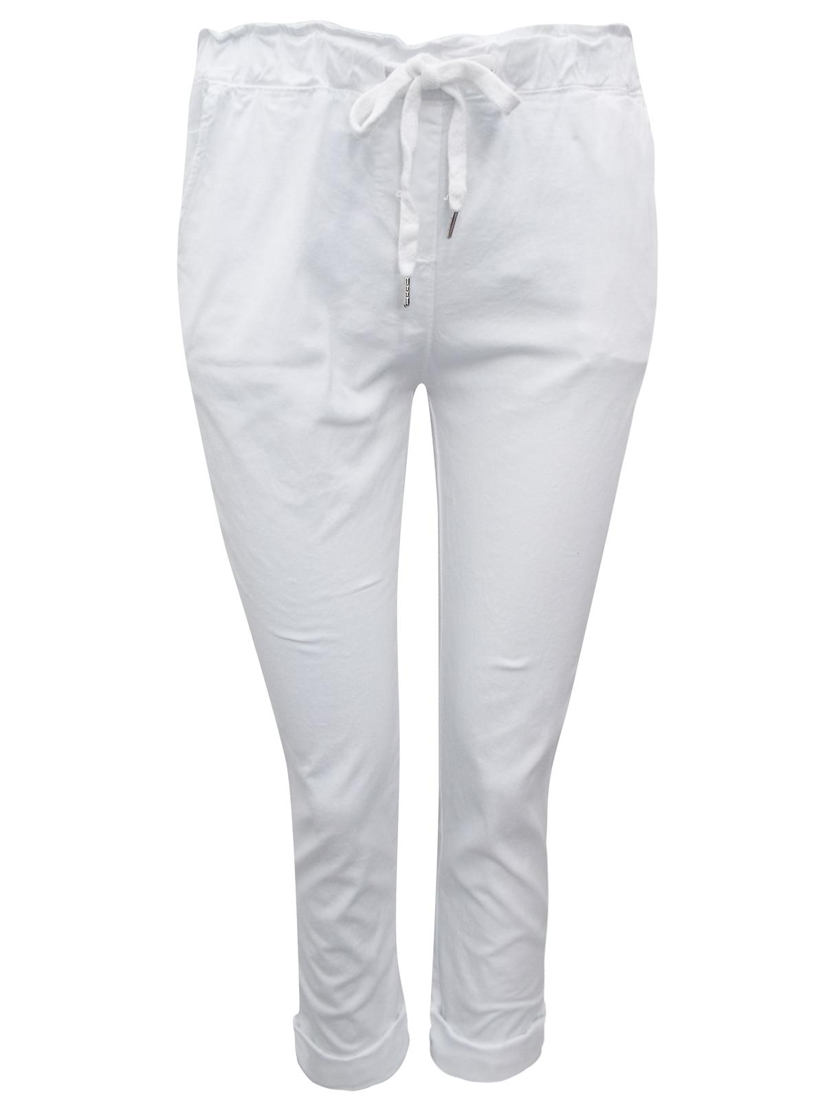 Vivi Pronto Moda Vivi Pronto Moda White Pull On