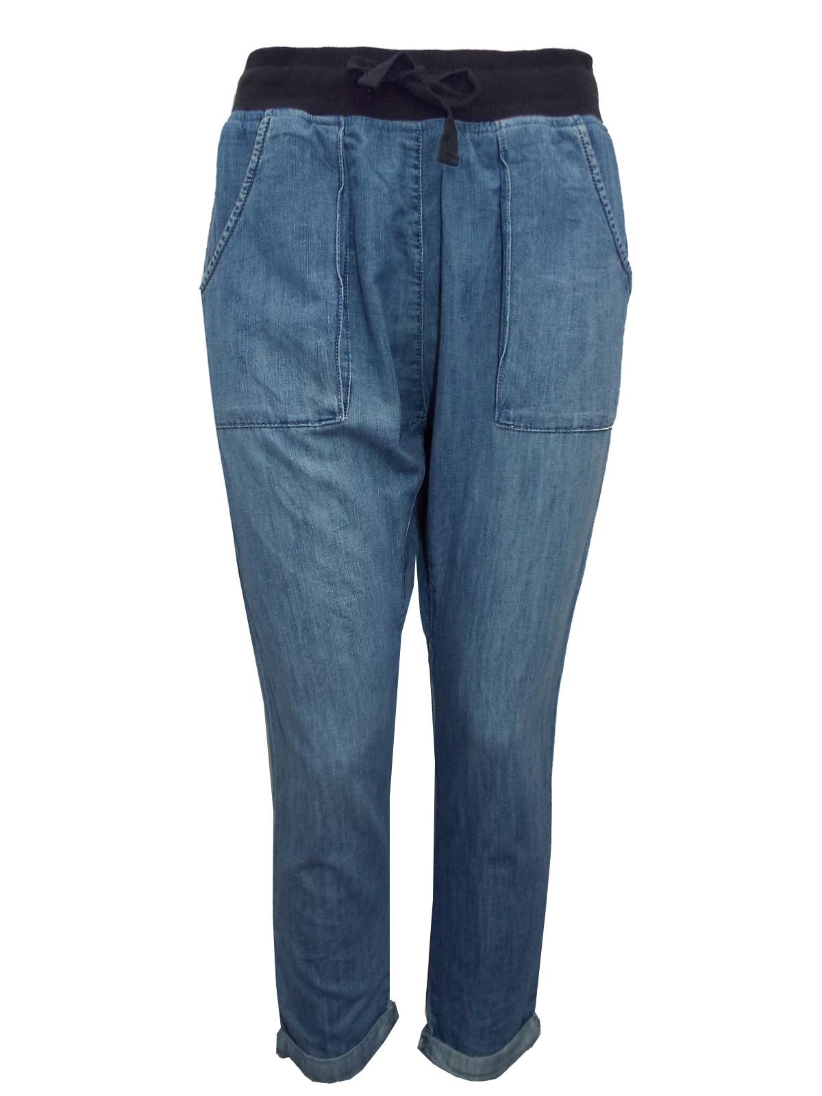 szczegóły dobra sprzedaż całkiem tania Vans DENIM Pull On Relaxed Denim Jeans - Size 10 to 14
