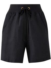 Capsule BLACK Linen Blend SlouchShorts - Size 10 to 32