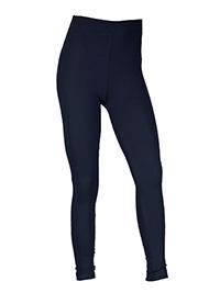 NAVY Girls Cotton Rich Full Length Leggings - Size 12Yrs