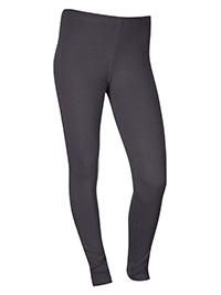 GREY Girls Cotton Rich Full Length Leggings - Size 14 to 18yrs (XSmall to Medium)